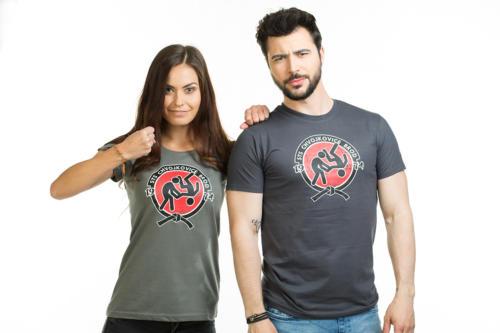 Slušnej oddíl šedé pánské tričko – nový střih