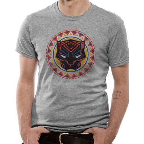 Tričko Black Panther – Logo in Circle