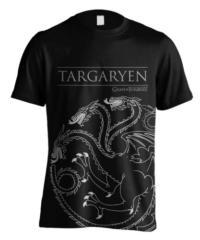 Tričko Game of Thrones – Targaryen House Outline