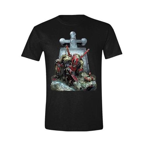 Tričko Marvel – Deadpool Tombstone