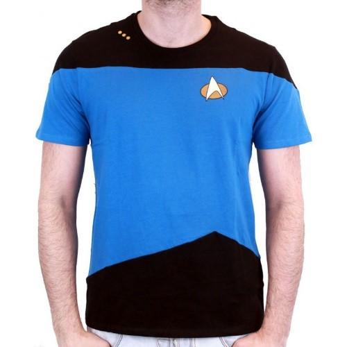 Tričko Star Trek: Next Generation – Modrá uniforma