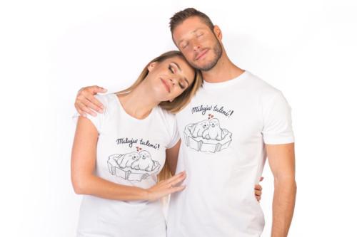 f33a0adecec7 Miluju tulení bílé pánské tričko – nový střih