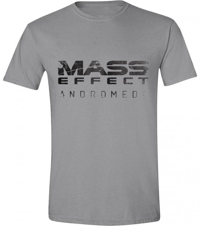 Herní tričko Mass Effect  – Andromeda Logo