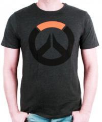 Herní tričko Overwatch  Black Icon