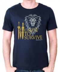 Herní tričko World of Warcraft  Unite to Survive