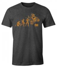 Herní tričko PUBG  Evolution