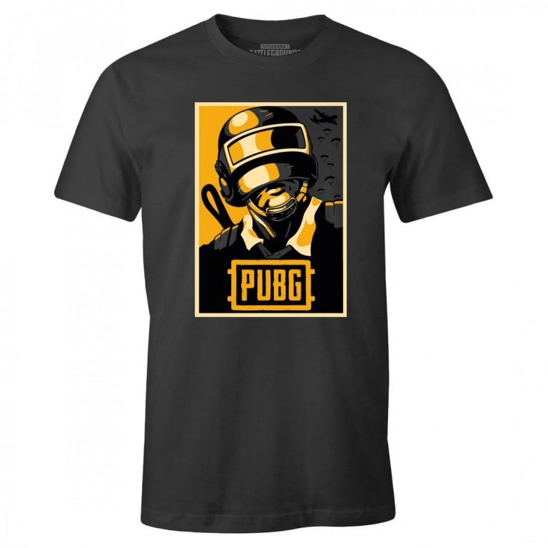 Herní tričko PUBG  Hope poster
