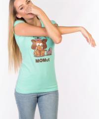 Momut zelené dámské tričko