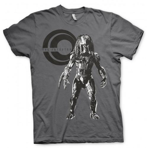 Tričko Predátor na lovu – tmavě šedé
