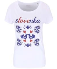 Bílé dámské tričko ZOOT Originál Slovenka
