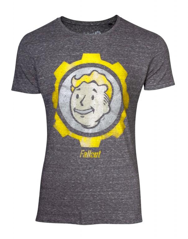 Herní tričko Fallout 76  Vault Boy