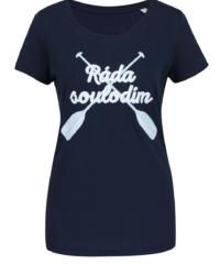 Modré dámské tričko ZOOT Originál Ráda soulodím