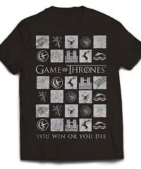 Tričko Game of Thrones – Win or Die 2