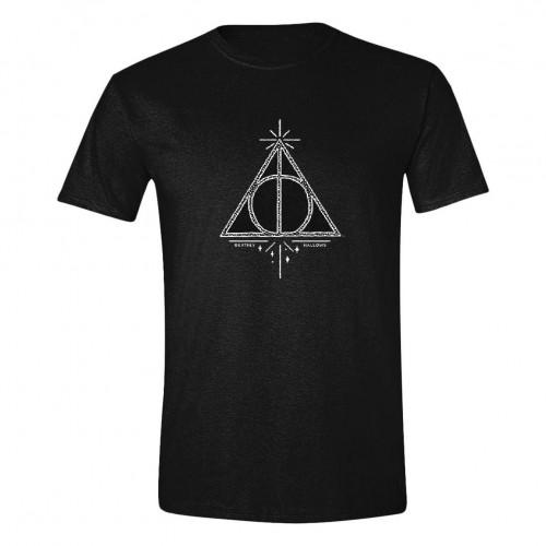 Tričko Harry Potter – Symbol Relikvie smrti