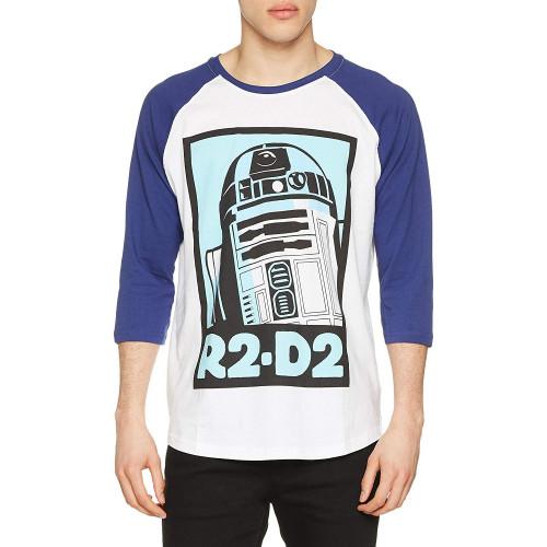 Tričko Star Wars – R2-D2, s třičtvrtečním rukávem