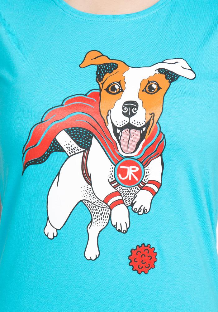 Jack Russell dámské tričko