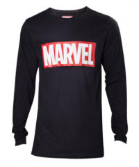 Tričko Marvel – Logo, dlouhý rukáv