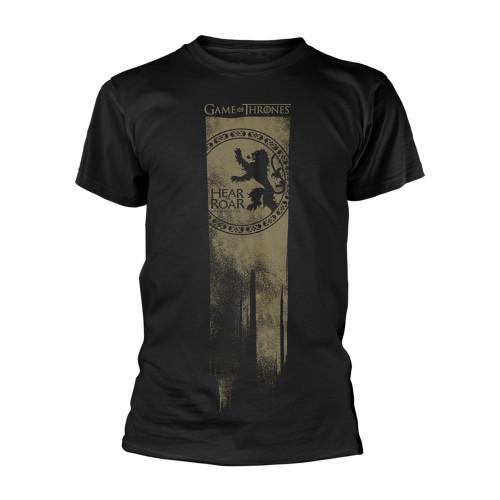 Tričko Game of Thrones – Lannister logo, Hear me roar