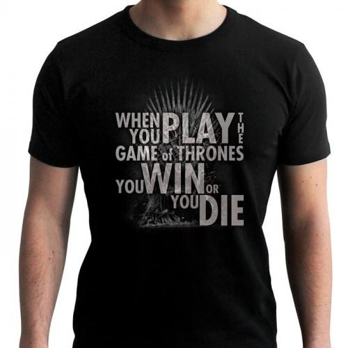 Tričko Game of Thrones – Quote Throne