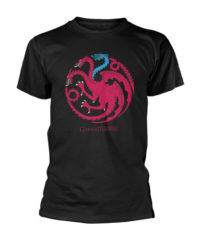 Tričko Game of Thrones – Targaryen logo, Ice dragon