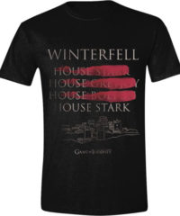 Tričko Game of Thrones – Winterfell Full Circle