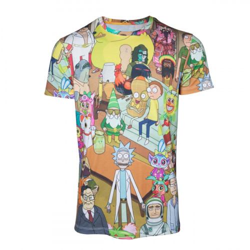 Tričko Rick & Morty – Printed Allover