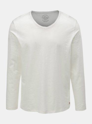 Bílé basic tričko Jack & Jones Birch