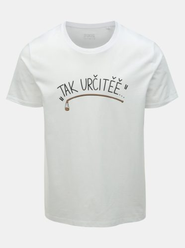 Bílé pánské hokejové tričko ZOOT Original Tak určitěě