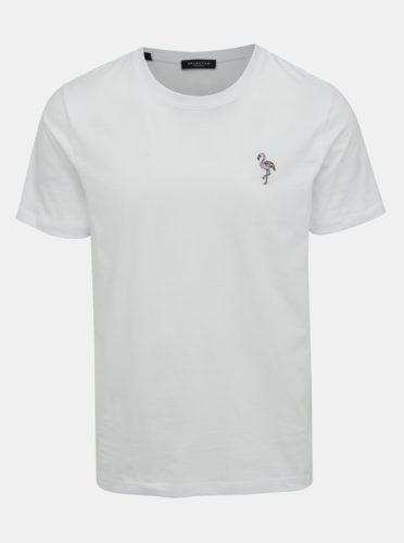 Bílé tričko Selected Homme Miami