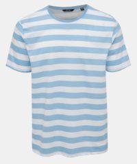Bílo-modré pruhované basic tričko ONLY & SONS Cole