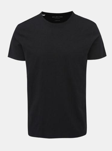 Černé basic tričko Selected Homme Ben
