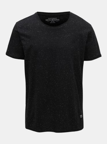 Černé žíhané tričko Shine Original