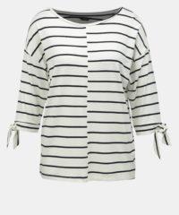 Černo-bílé pruhované tričko M&Co