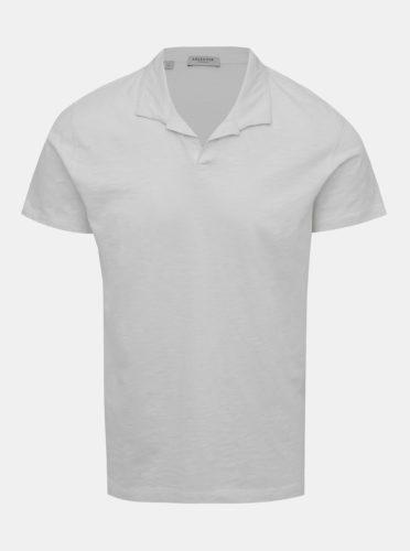 Krémové basic polo tričko Selected Homme Fillipe