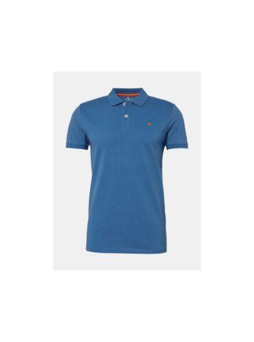 Modré pánské polo tričko Tom Tailor