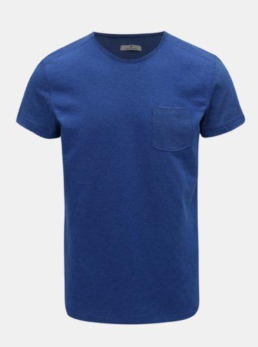 Modré pánské tričko s kapsou Tom Tailor