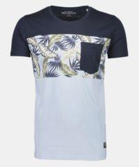 Modré vzorované tričko Shine Original