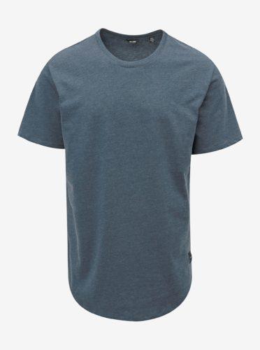 Modré žíhané basic tričko ONLY & SONS Matt