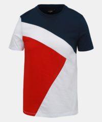 Modro-červené pánské tričko Haily´s Marius
