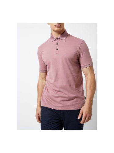 Starorůžové polo tričko Burton Menswear London