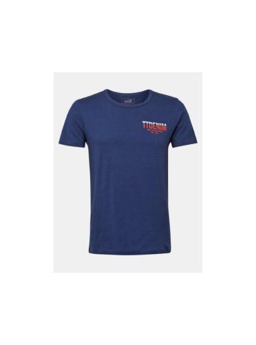 Tmavě modré pánské tričko Tom Tailor Denim