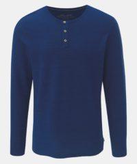 Tmavě modré pruhované basic tričko Jack & Jones Joseph