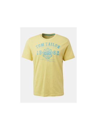 Žluté pánské tričko Tom Tailor