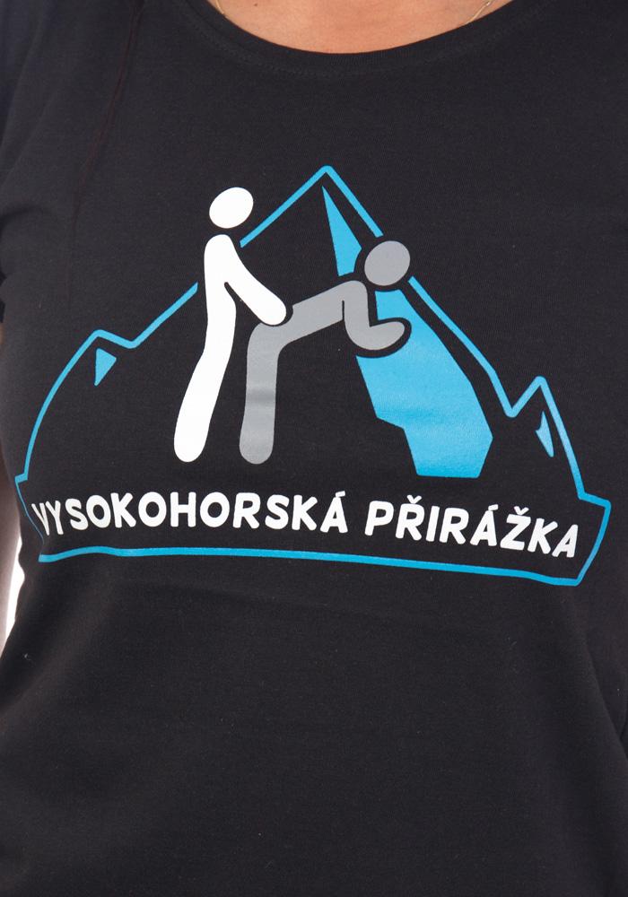 Vysokohorská přirážka dámské tričko