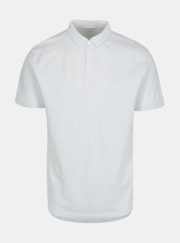 Bílé pánské basic polo tričko Lindbergh