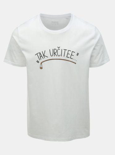 Bílé pánské hokejové tričko ZOOT Original Tak určitee