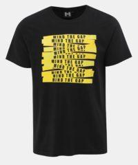 Černé pánské tričko s potiskem Haily´s Mason