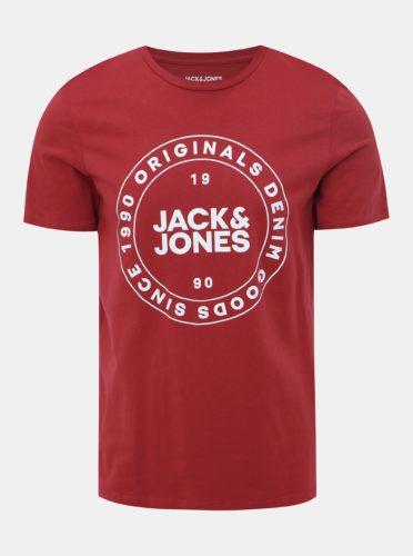 Červené tričko Jack & Jones Vincey