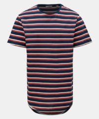 Červeno-modré pruhované tričko ONLY & SONS Pacifica