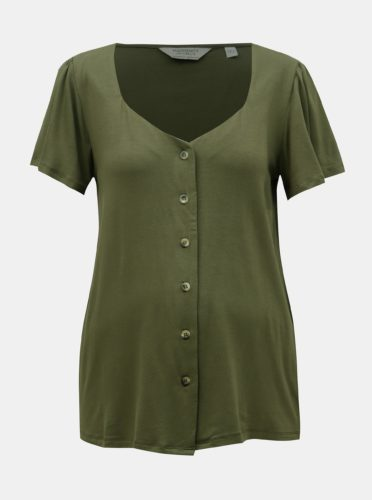Khaki těhotenské tričko Dorothy Perkins Maternity